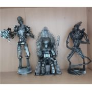 scifi postavy Sochy z kovu