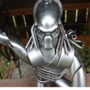 scifi postavy Sochy z kovu Predator detail