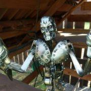 scifi postavy Sochy z kovu Terminator detail