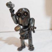 scifi postavy Sochy z kovu detske