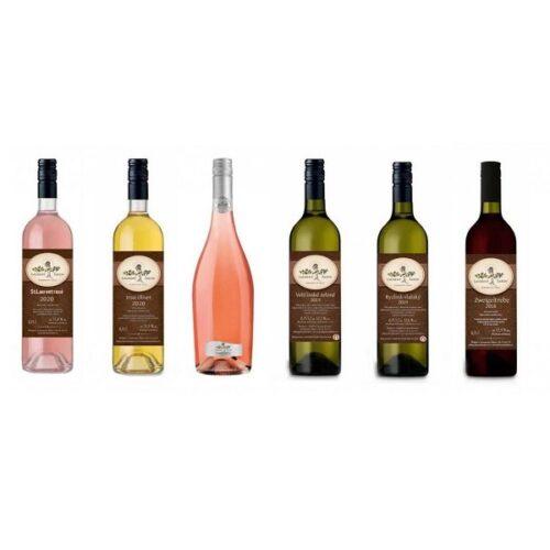 vinařství Laurent Šatov degustační sada