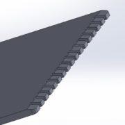 3D tisk škrabka na led reklamní předmět obrázek