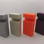 3D tisk stojánek na telefon barvy