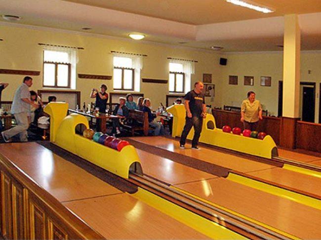 Česká hospoda bowling penzion