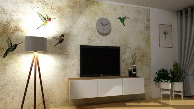 Design s kolibříky