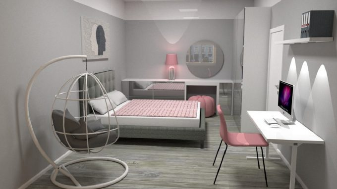 Návrh ložnice