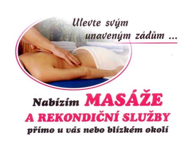 Lenka Procházková – masáže, pedikúra